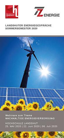 Flyer Landshuter Energiegespräche